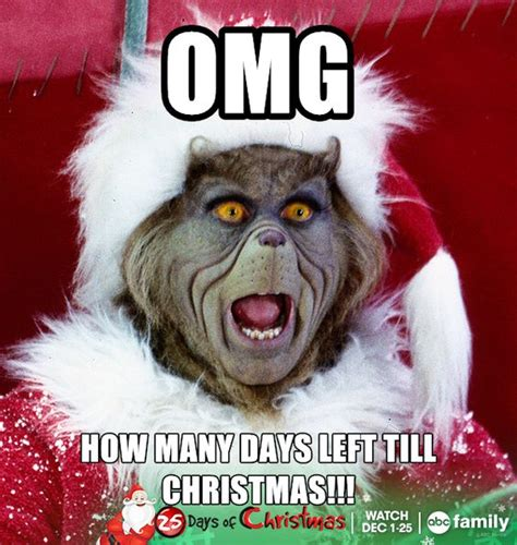 Christmas Funny Memes - christmas meme abc family and the grinch on pinterest