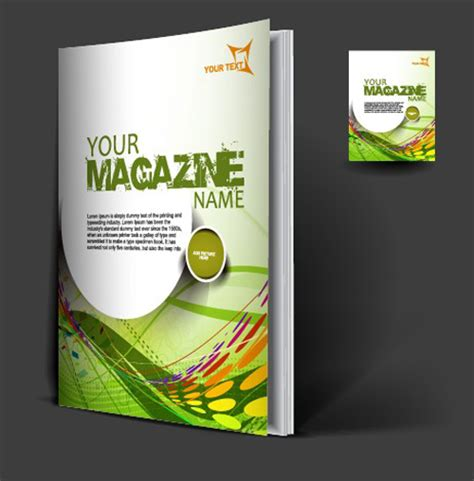 magazine layout vector free download set of modern magazine cover design vector 01 vector