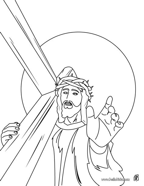 coloring pages jesus crown of thorns jesus christ s crown of thorns coloring pages hellokids com