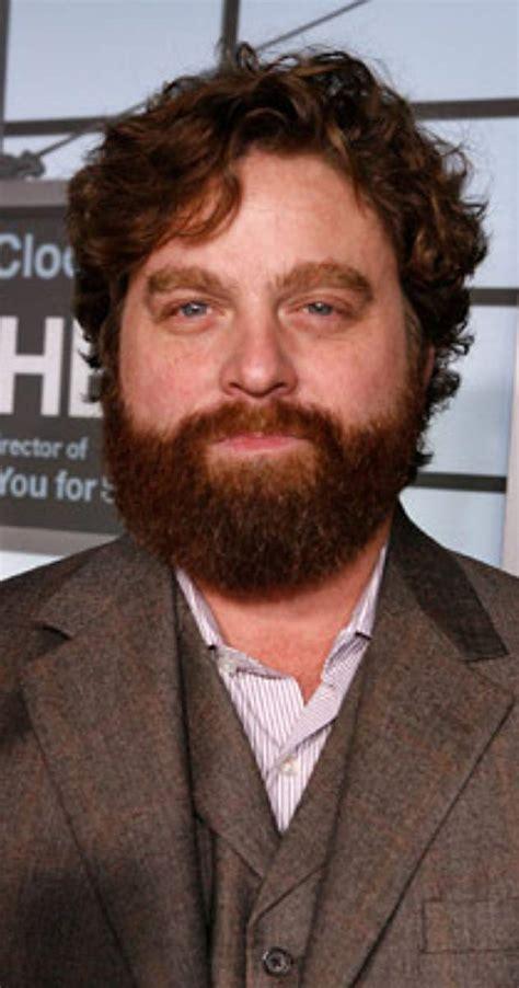 actor zach from hangover zach galifianakis biography imdb