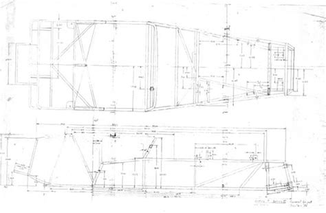 lotus 7 frame lotus 7 chassis plans sketch coloring page
