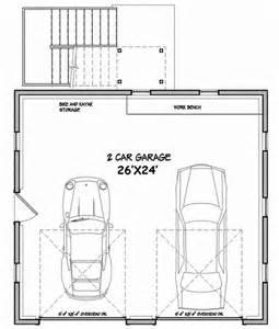 Free 2 Car Garage Plans by Architectural Designs