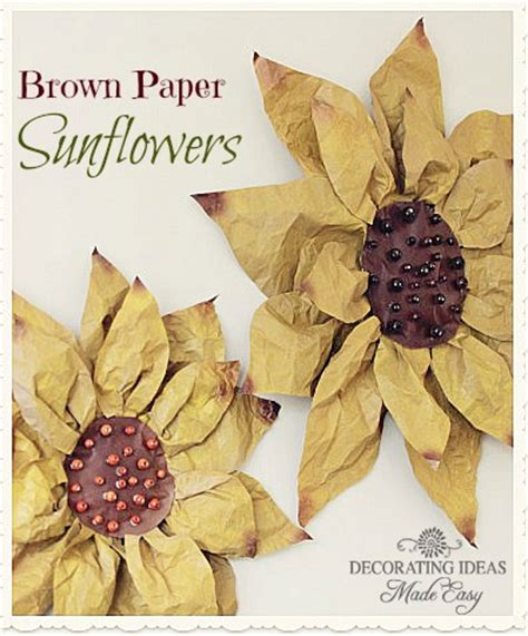 Brown Paper Craft - amazing brown paper bag tutorials u create