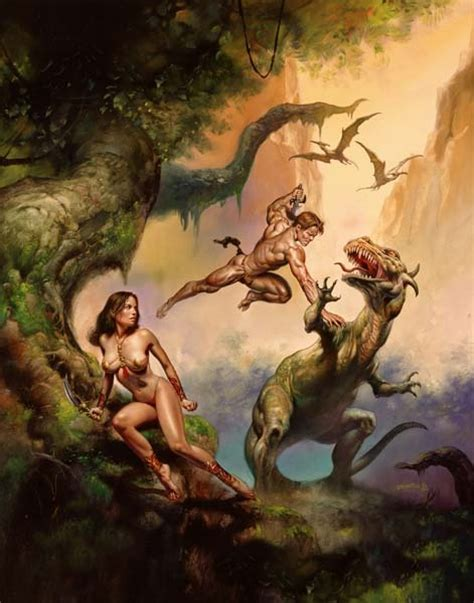 boris vallejo julie 0761188509 savage land by boris vallejo pulp culture boris vallejo savage and julie bell