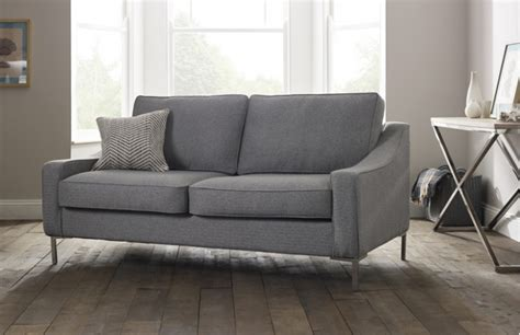 4 seater hilary modern fabric sofa