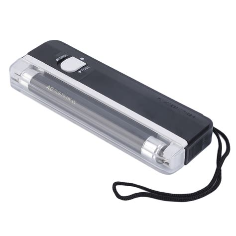 Battery Money Detector 2in1 With Torch handheld portable uv led light torch l counterfeit currency money detector jl ebay