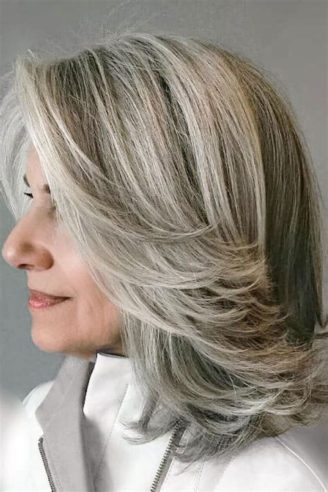 hairstyles layers with blended highlights lowlights low maintenance hair colors that let you skip constant