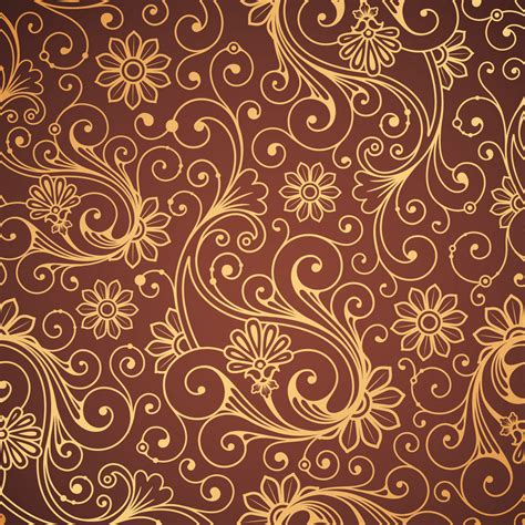 pattern of gold beautiful background patterns vector free vector 4vector