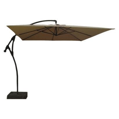Square Offset Patio Umbrella Threshold Square Offset Patio Umbrella And Base Blue 9
