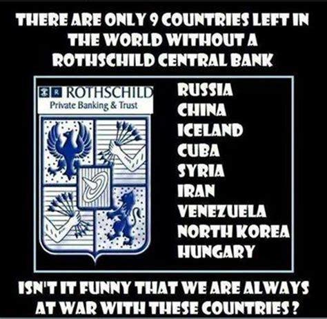 bank rothschild federal reserve bank memes