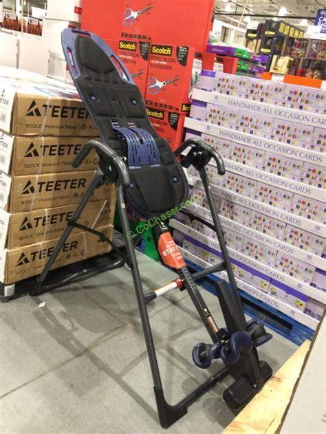 teeter inversion table costco teeter inversion table model 900lx costcochaser