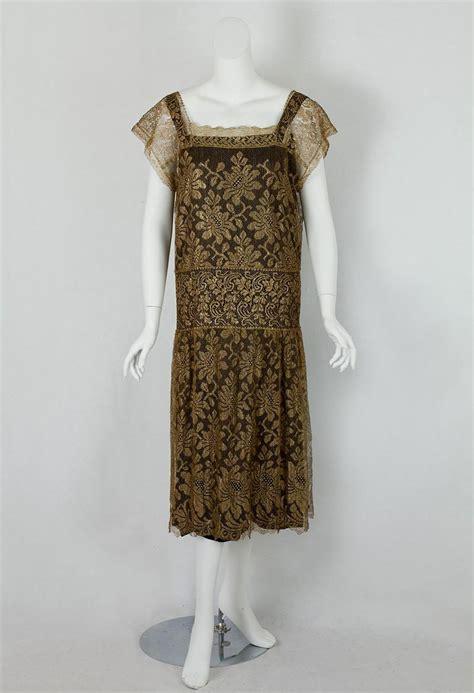1920s Fashion At Vintage Textile by Flapper Dress 1920 Vintage Naf Dresses