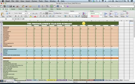truck driver profit and loss statement template and food service