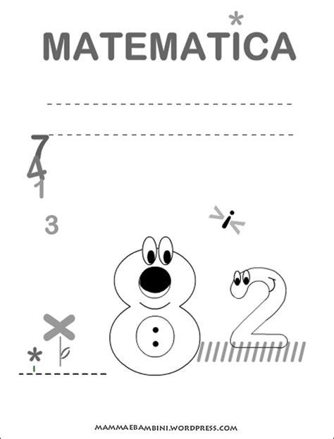 copertina da copertine quadernoni per la scuola mamma e bambini