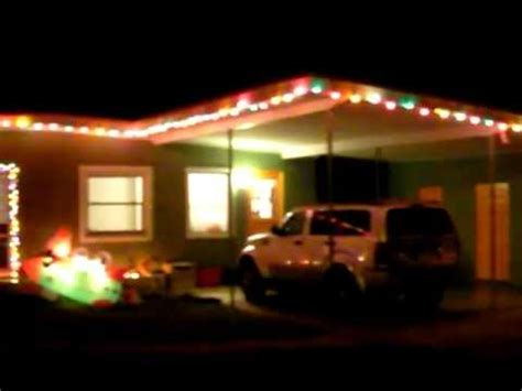 attching christmas lights to moden house mid century modern ranch house lights