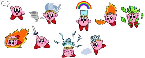 kirby powers by galactickirby on deviantart