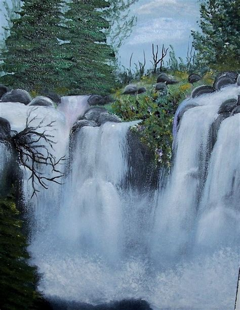 bob ross painting a waterfall 287 best images about painting on bobs