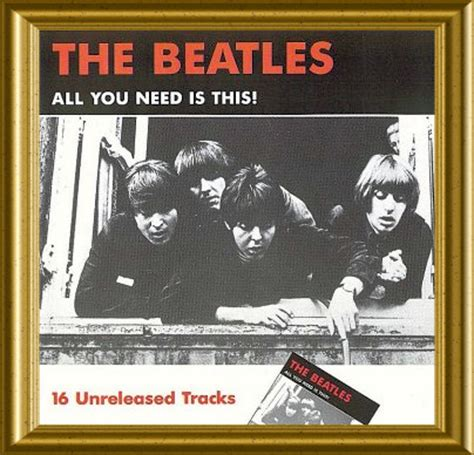 beatles cd beatles all you need is this