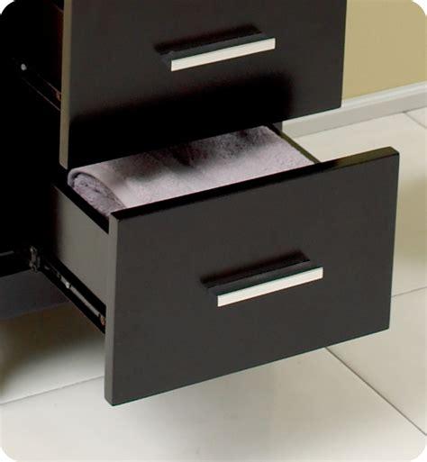 bathroom linen cabinets espresso 15 75 quot fresca fst1008es espresso bathroom linen cabinet
