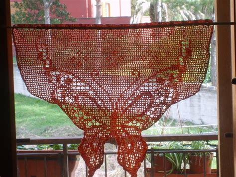 tenda uncinetto tenda a uncinetto ali di farfalla donna accessori di