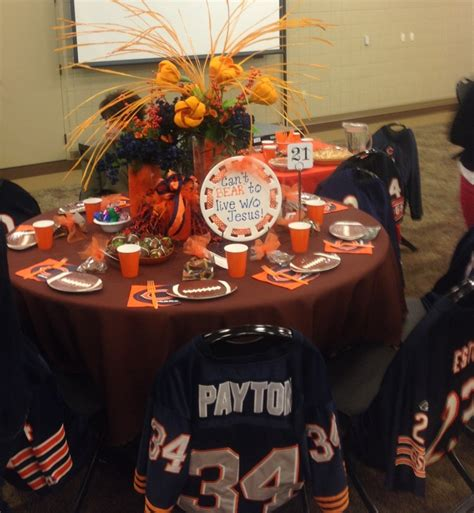 chicago themed decorations chicago bears theme ideas