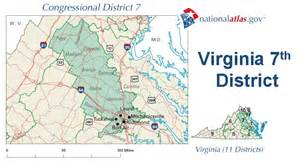 Virginia Senate District Map by Virginias 7th Congressional District Elections 2012