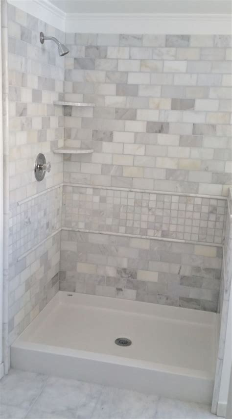 How To Tile Shower Walls by Best 25 Shower Pan Ideas On Diy Shower Pan