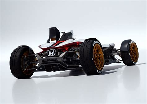 Motorrad Kfz by Honda Project 2 4 Concept 2015 As Minimal As A Car Can