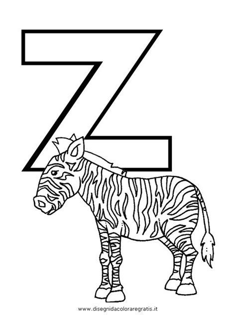 foto lettere alfabeto disegno alfabeto zebra categoria alfabeto da colorare