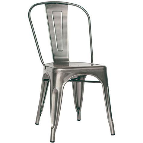 sedia in metallo sedia vintage e industriale in metallo e vernice