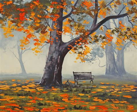 park bench painting park bench by artsaus on deviantart