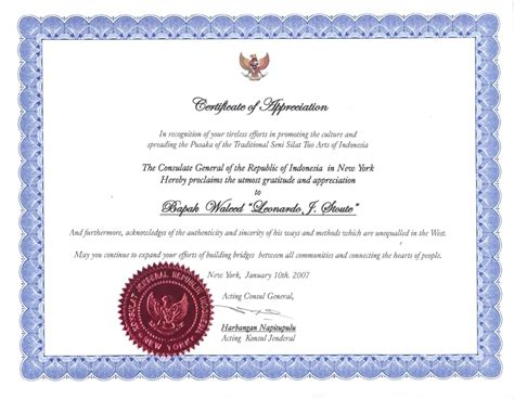 certificate of appreciation exles how to make a funeral