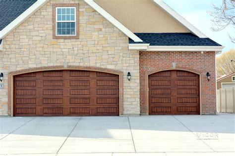 modern custom garage doors provo orem ut vidor