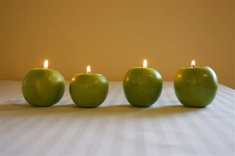 Apple Candle ido it myself diy apple candles
