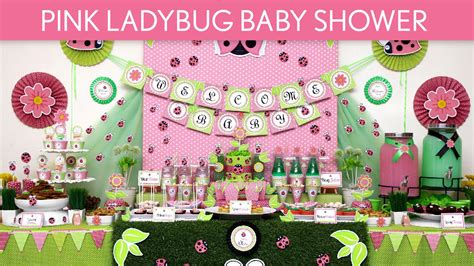 Pink Ladybug Baby Shower Decorations by Pink Ladybug Baby Shower Ideas Pink Ladybug S52
