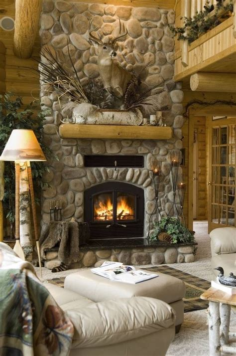 Beautiful Fireplaces | 34 beautiful stone fireplaces that rock