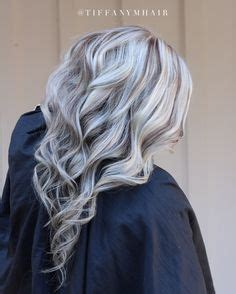 can you put lowlights over platinum hair cool blonde highlight with rich lowlights mixed throughout