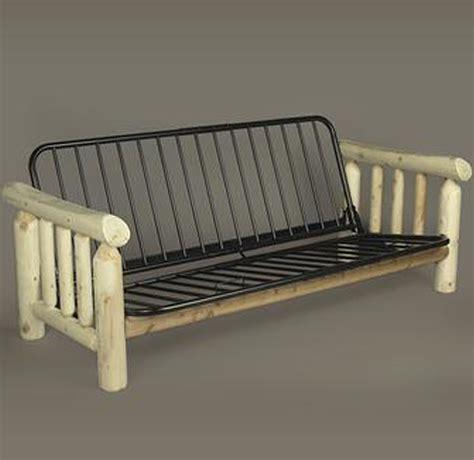 rustic futon frame rustic futon frame in futons