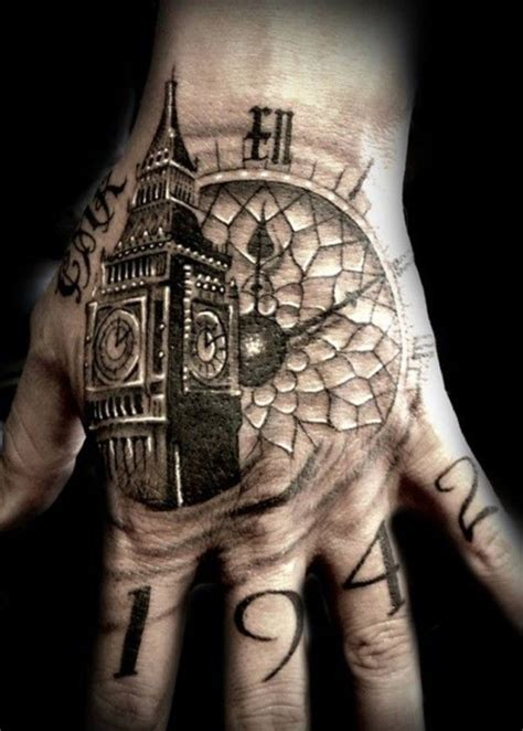 clock tower tattoo 60 tattoos for and amazing ideas