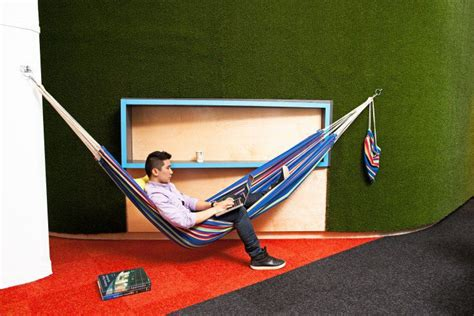 Office Desk Hammock 13 Playful Work Environments That Reinvent Office Space