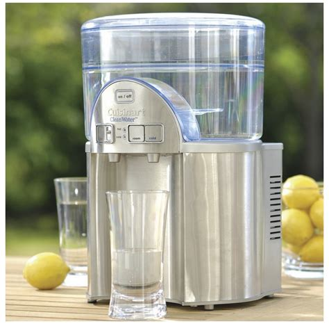 Clean Countertop Water Filter by Water Distillers Countertop Water Filter Cuisinart