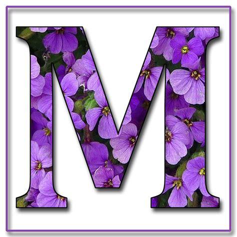 flower design m letter quot m quot me myself on pinterest letters