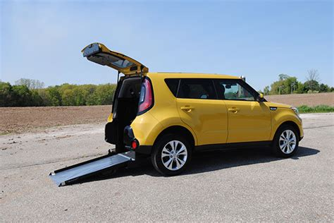 Kia Soul Car Kia Soul Wheelchair Accessible Car Freedom Motors Usa