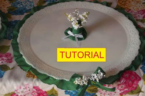 tutorial per fare i drum tutorial per realizzare un vassoio porta bomboniere fai da