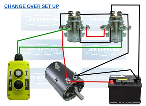 winch motor wiring diagram get free image about wiring
