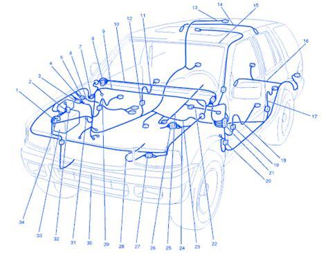isuzu rodeo ls 2000 engine electrical circuit wiring