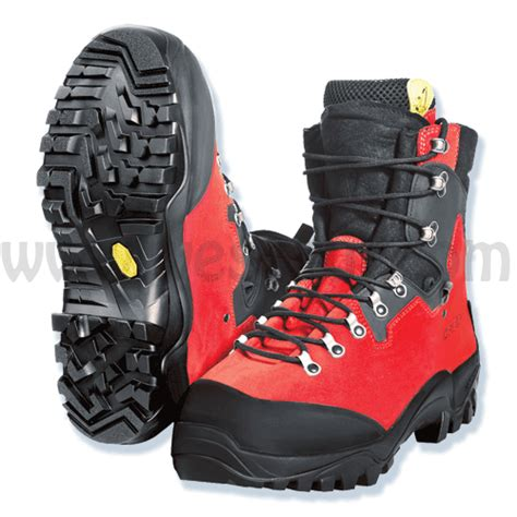 tree climbing boots zermatt chainsaw boots from pfanner