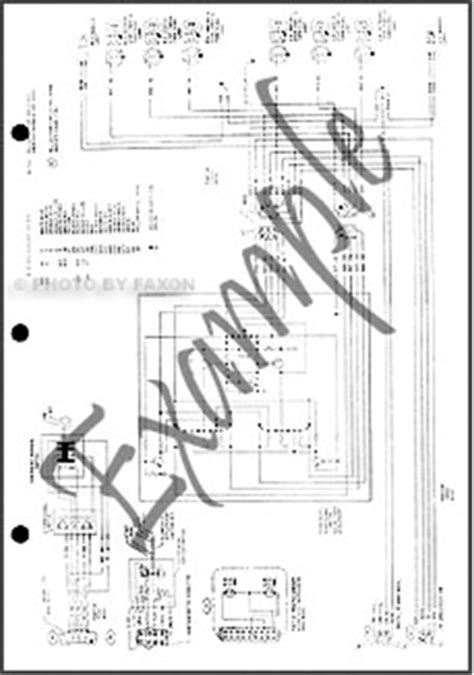 1981 ford f100 wiring diagram 1981 ford foldout wiring diagram f100 f150 f250 f350 truck electrical ebay