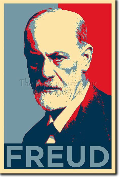 Ateisme Sigmund Frued sigmund freud photo print obama poster