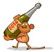 new year monkey animation new year 2016 17 graphics clipart new year 2016 and 2017